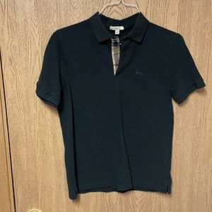 Men's Burberry Brit black polo
